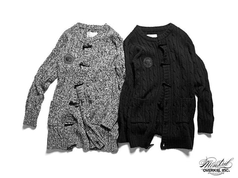 KNIT LONG VERSION COAT