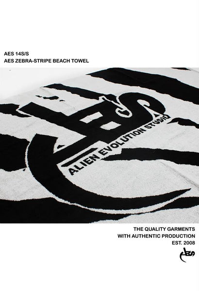 AES Zebra Stripe Beach Towel