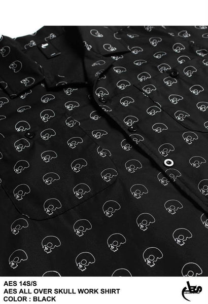 AES All Over Skull Work Shirt