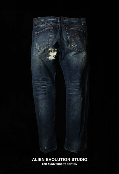 AES 6th Anniversay Washed Savage Jean