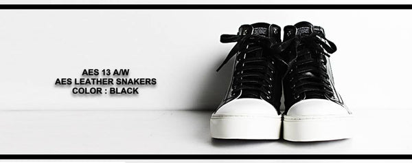 AES Leather Sneakers