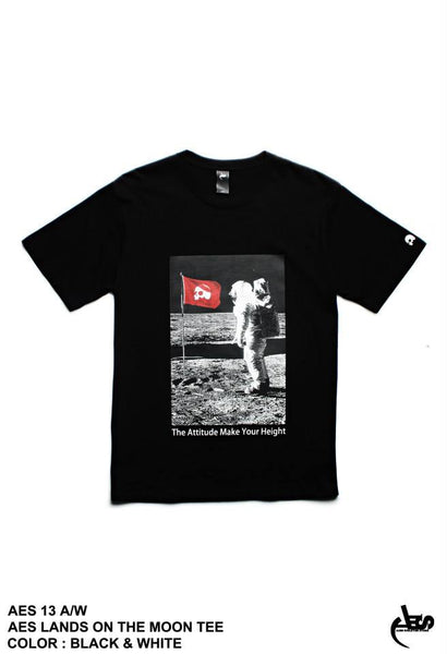AES Lands On The Moon Tee