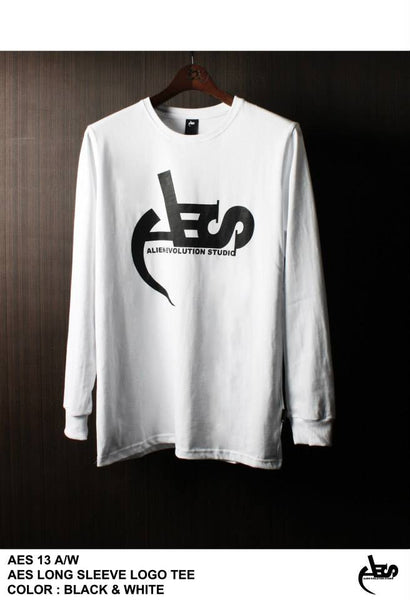AES Long Sleeve Logo Tee