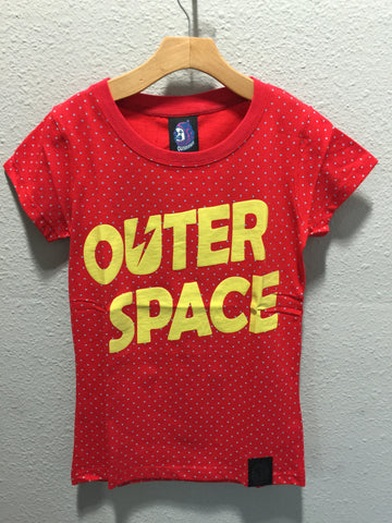 Outer Space Logo Tee