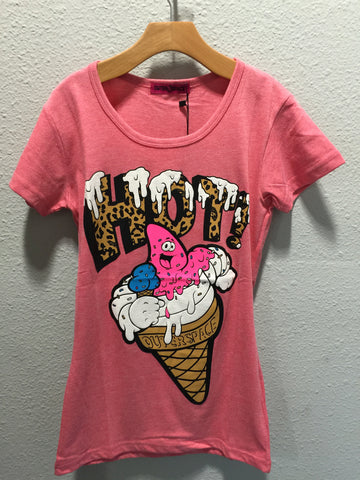 Outer Space Ice Cream Tee