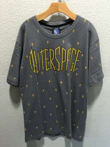 Outer Space Small Cross Tee