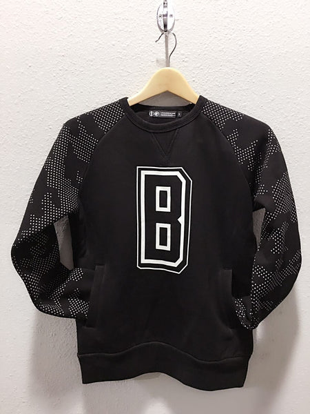 Black Fever Spirit Letter B Sweatshirt