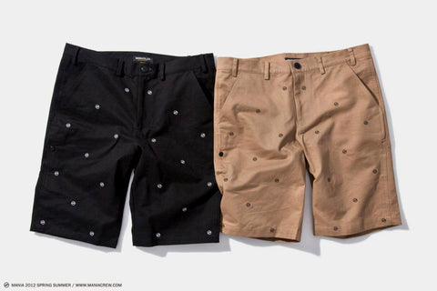 POLKA DOT WORK SHORTS
