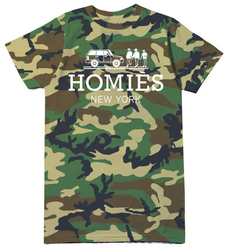 HOMIES NEW YORK TEE CAMO
