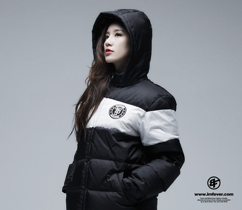 Black Fever Black & White Dawn Jacket