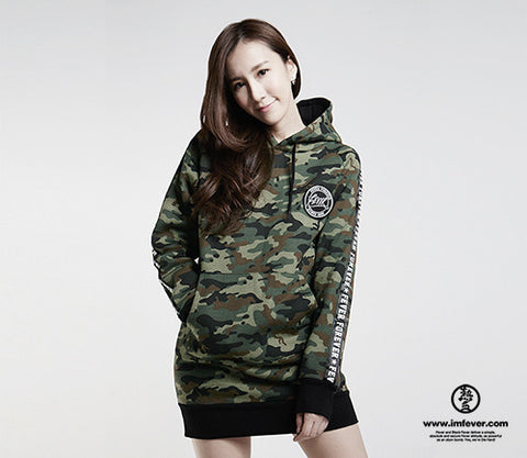 Black Fever Army Hoodie - Female (One Size)