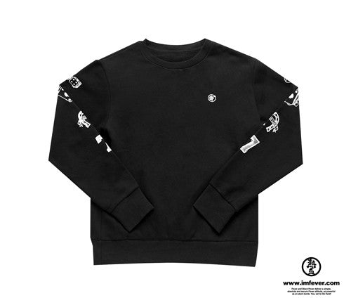Black Fever Lucky 7 Sweatshirt