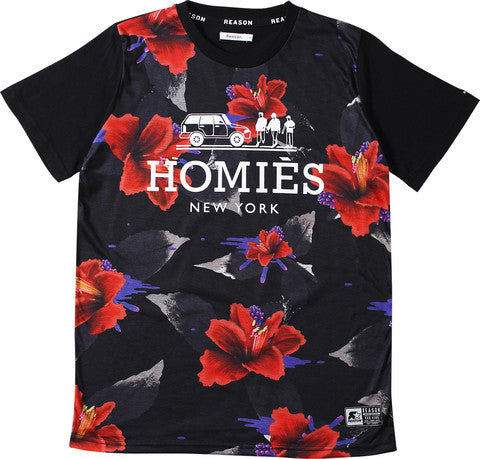 NEW YORK FLORAL TEE
