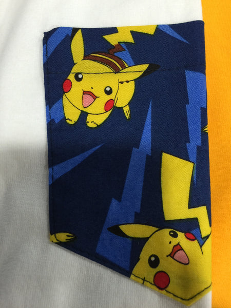 Radyo Pokemon Pocket Tee (Pikachu)