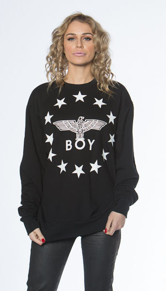 Boy London Globe Star Sweatshirt