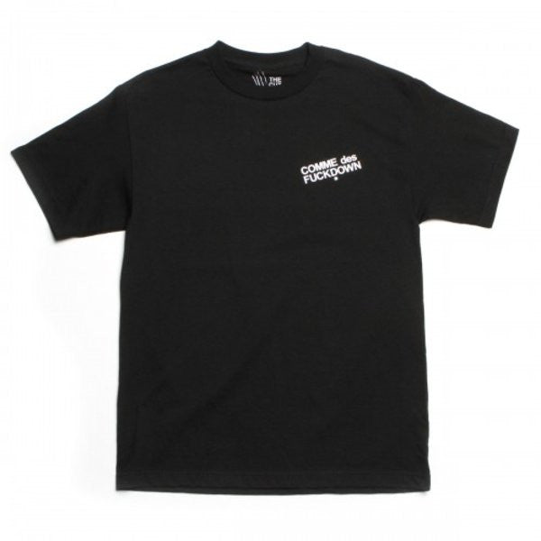 THE CUT-COMME des FUCKDOWN TEE (FRONT/BACK PRINT)