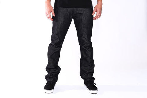 Good Denim Raw Black