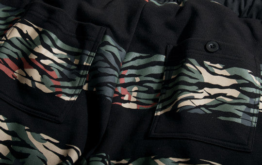 Phantaci Shark Camo Stripe Shorts