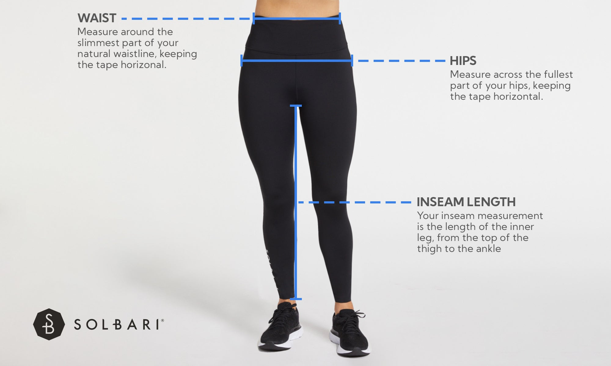 Womens Leggings Size Guide