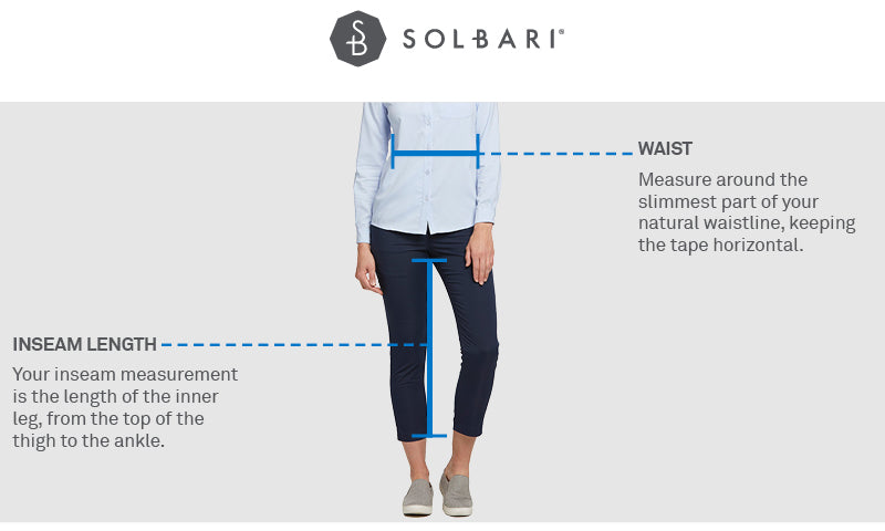WOMENS TROUSERS SIZE GUIDE