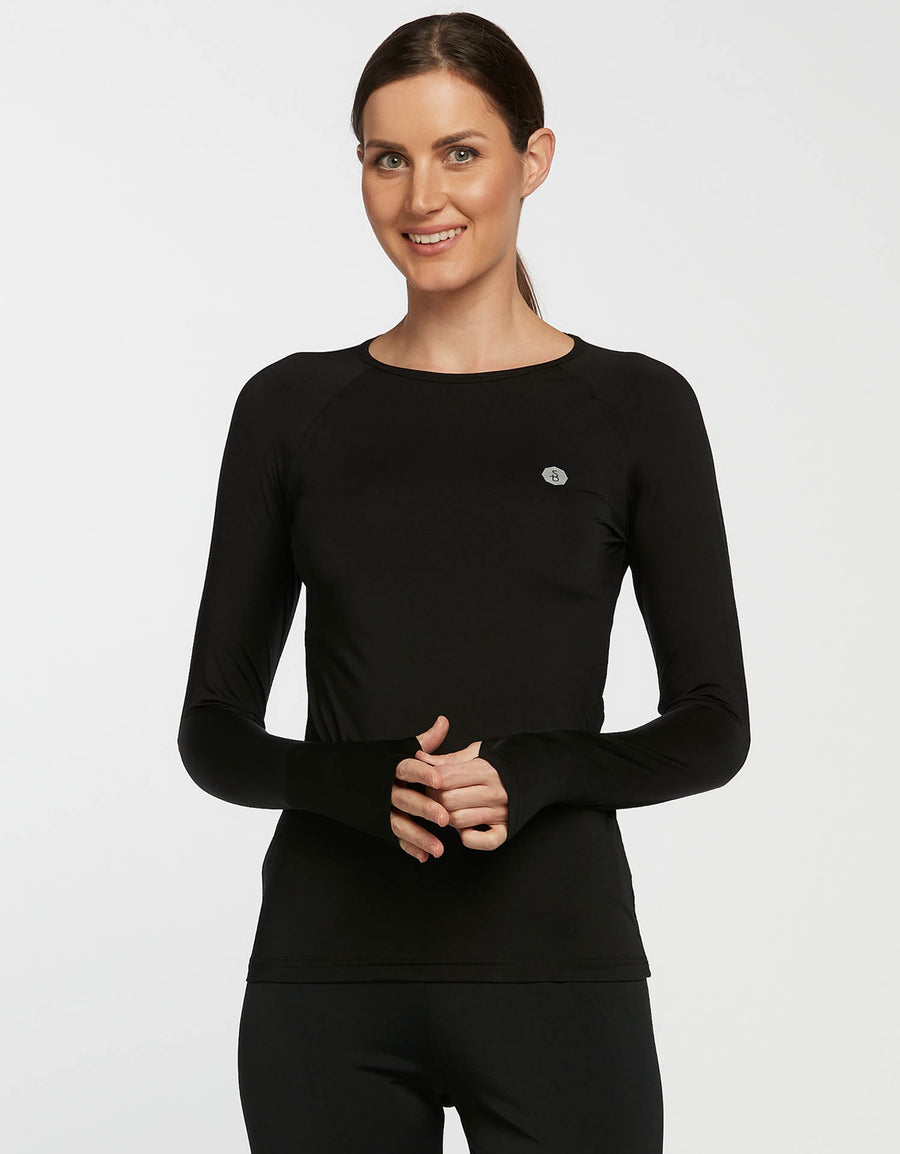 Solbari UPF 50+ Sun Protection Azure Base Layer for Women