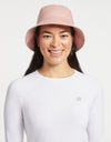 Solbari Sun Protection Women UPF50+ Noosa Bucket Hat in Dusty Pink