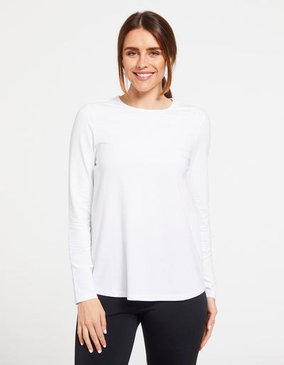 Loose Fit Long Sleeve Swing Top UPF 50+ Sensitive Collection