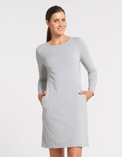 Long Sleeve T-shirt Dress UPF50+ Sensitive Collection