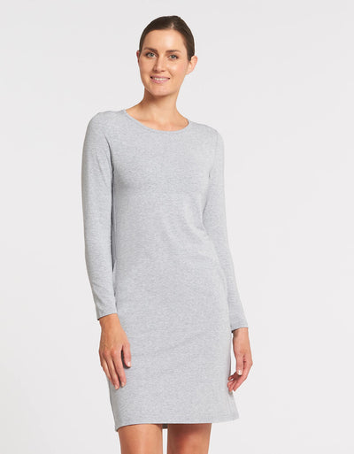 cb91aefb0615 Long Sleeve T-shirt Dress UPF50+ Sensitive Collection
