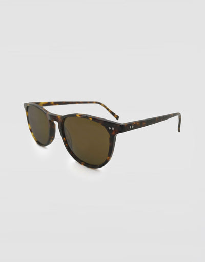 Solbari Sun Protection Bondi Sunglasses Tortoise Shell Brown
