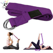 Sangle extensible de yoga réglable