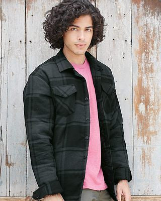 Burnside - Quilted Flannel Jacket - B8610