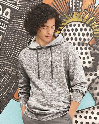 Burnside - Injected Yarn Dyed Fleece Hooded Pullover Sweatshirt - B8609