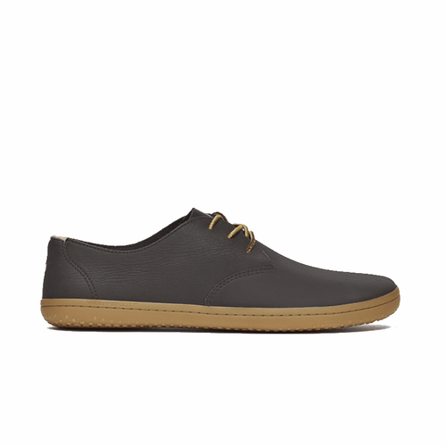 Vivobarefoot Ra II Mens Chestnut Wild Hide Leather - Vivobarefoot ZA