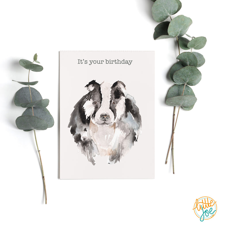 It's Your Birthday Badger Card