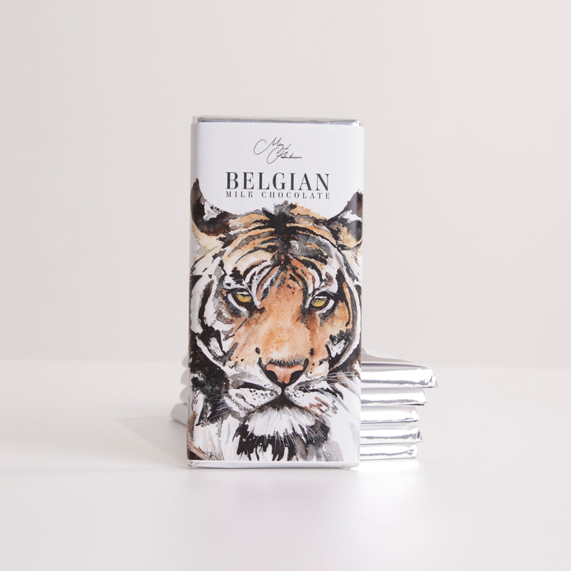 Tiger Design Chocolate Bar