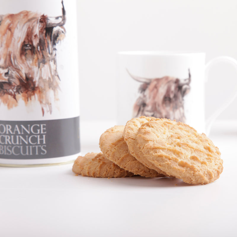Orange Crunch Biscuits
