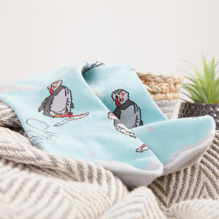 Puffin Design Socks