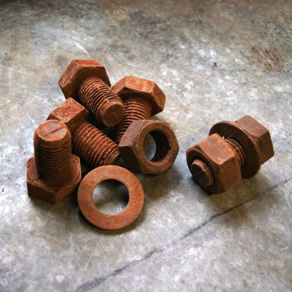 Large Nut, Bolt & Washer