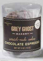 Grey Ghost Chocolate Espresso Cookie 4 oz.