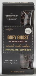 Grey Ghost Chocolate Espresso Cookie 8 oz.