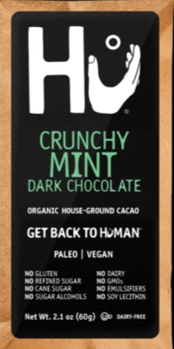 Hu Crunchy Mint  Vegan Chocolate Bar