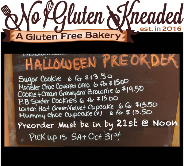 No Gluten Kneaded --Witch Hat Green Velvet Cupcake