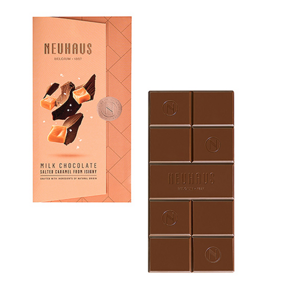 Neuhaus Tablet Milk Chocolate with Salted Caramel