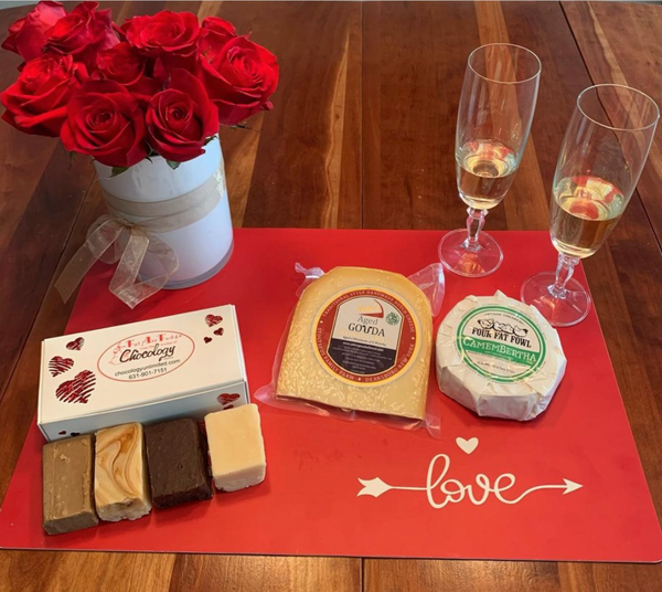 Fudge and New York Cheese Pairing