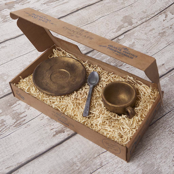 Teaspoon, Cup & Saucer Gift Box