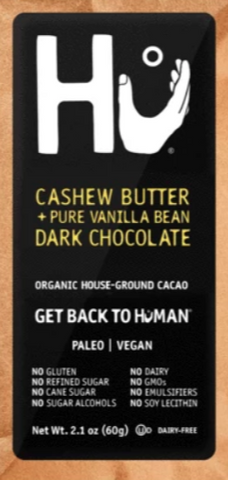 Hu Cashew Butter Vanilla Bean Vegan Chocolate Bar