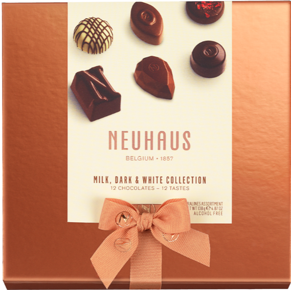 Neuhaus 12 Piece Milk Dark White Collection