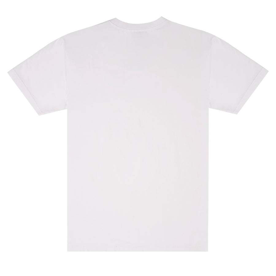 MAEL T-SHIRT ORGINAL FACE WHITE/LILA