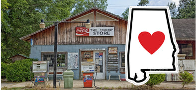 Heart in Alabama country store